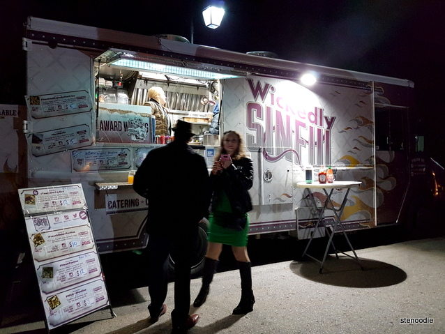 Wickedly Sinful food truck