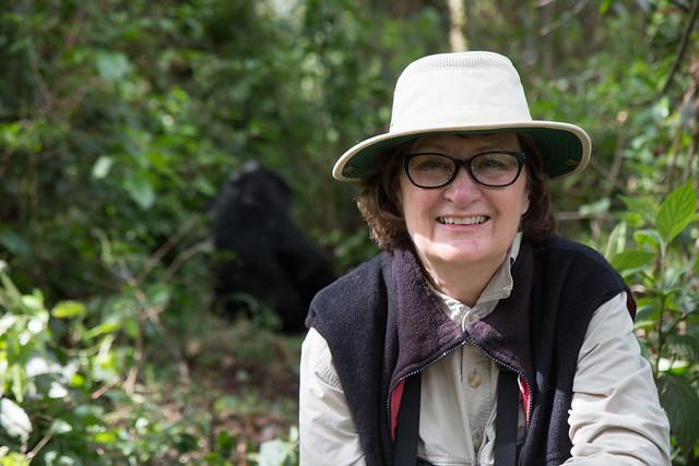 Laura in Uganda