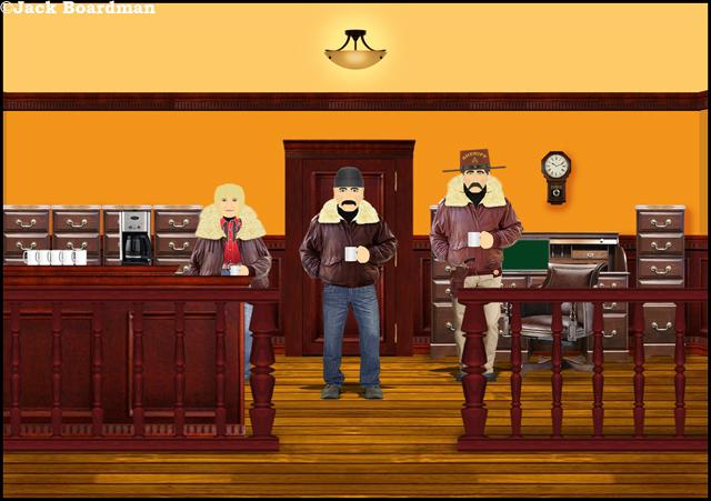 Moosehead County Sheriff's office ©Jack Boardman