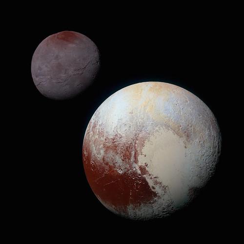 VCSE - Mai kép - Pluto és Charon
