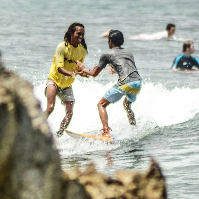 Rapture Camp Surfing Lessons