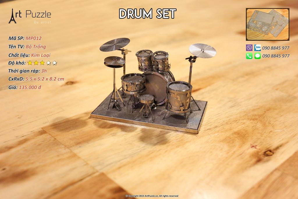 Art Puzzle - Chuyên mô hình kim loại (kiến trúc, tàu, xe tăng...) tinh tế và sắc sảo - 17