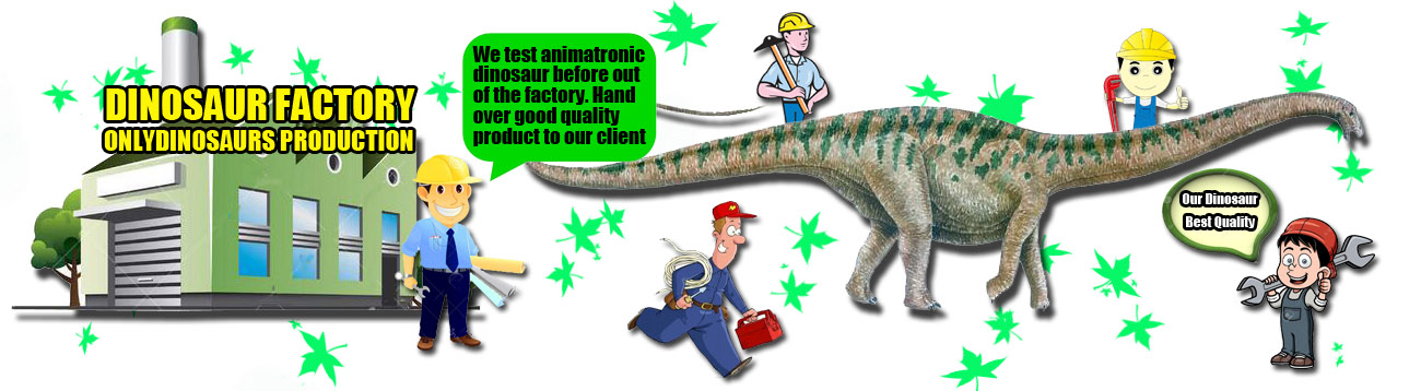 Test Dinosaurs in Factory