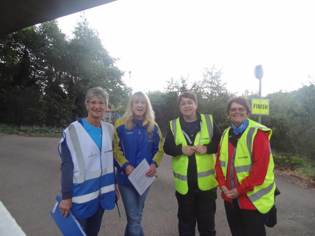 Some of this week's volunteers.