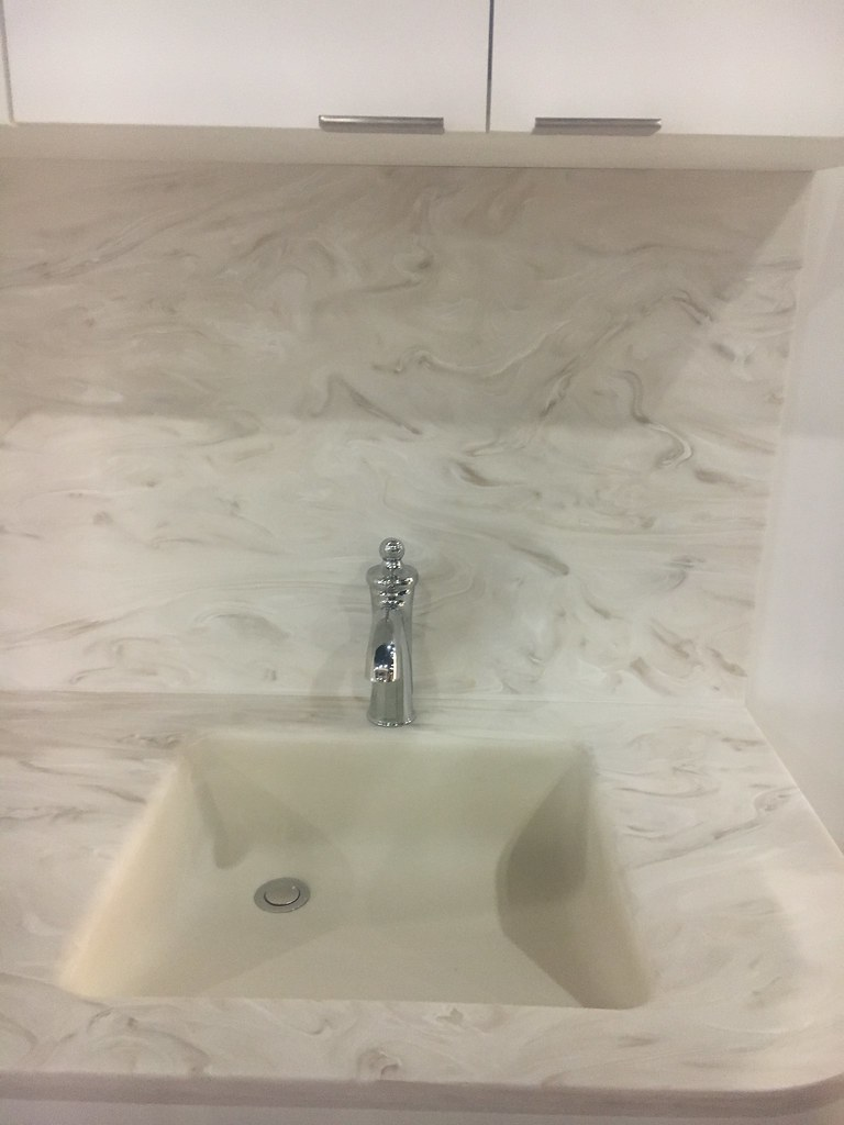 Corian 174 Sandstorm With Corian 174 Sink 8252 As Seen In The