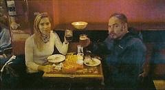 Jaime sopant a Sant Telmo amb Natàlia.
