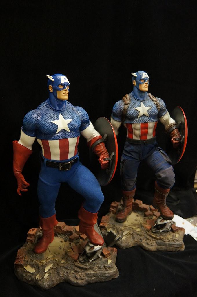 Custom Captain America Premium Format  23500701513_8bbc172d51_b