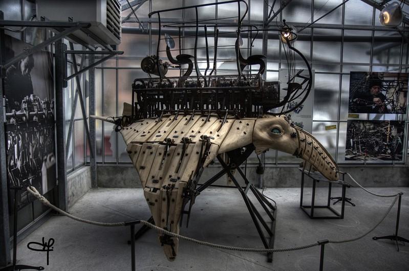 LES MACHINES DE L'ILE (Стимпанк диснейленд во Франции)