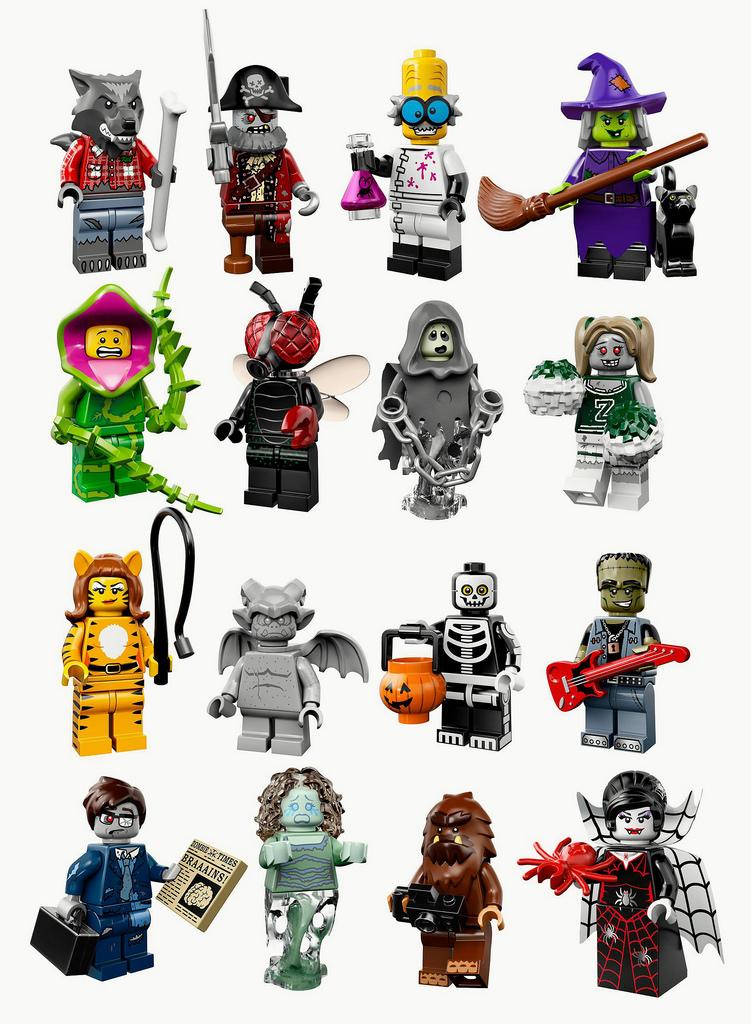 lego minifigures series 14 - 751×1024