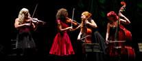 Fotograf�a del espect�culo StradivariaS II, este viernes en Ermua