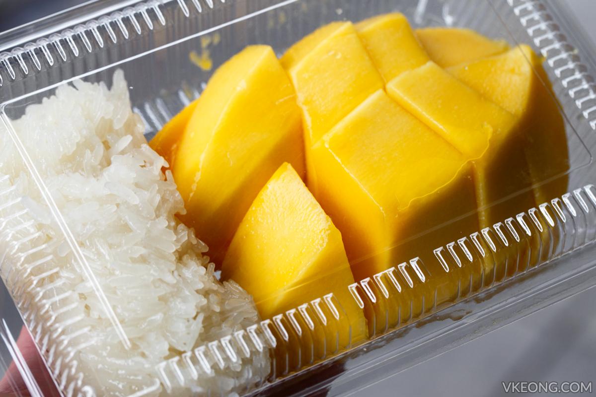 Mango Sticky Rice Bangkok Mae Varee