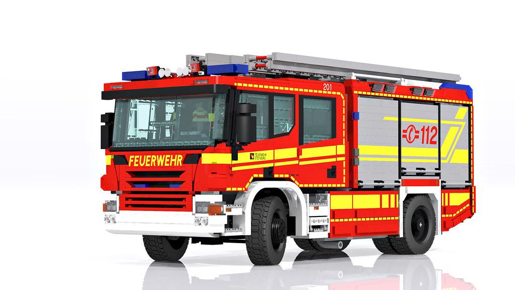 Scania Rosenbauer P320 Rescue Pumper Hlf 20 It S No