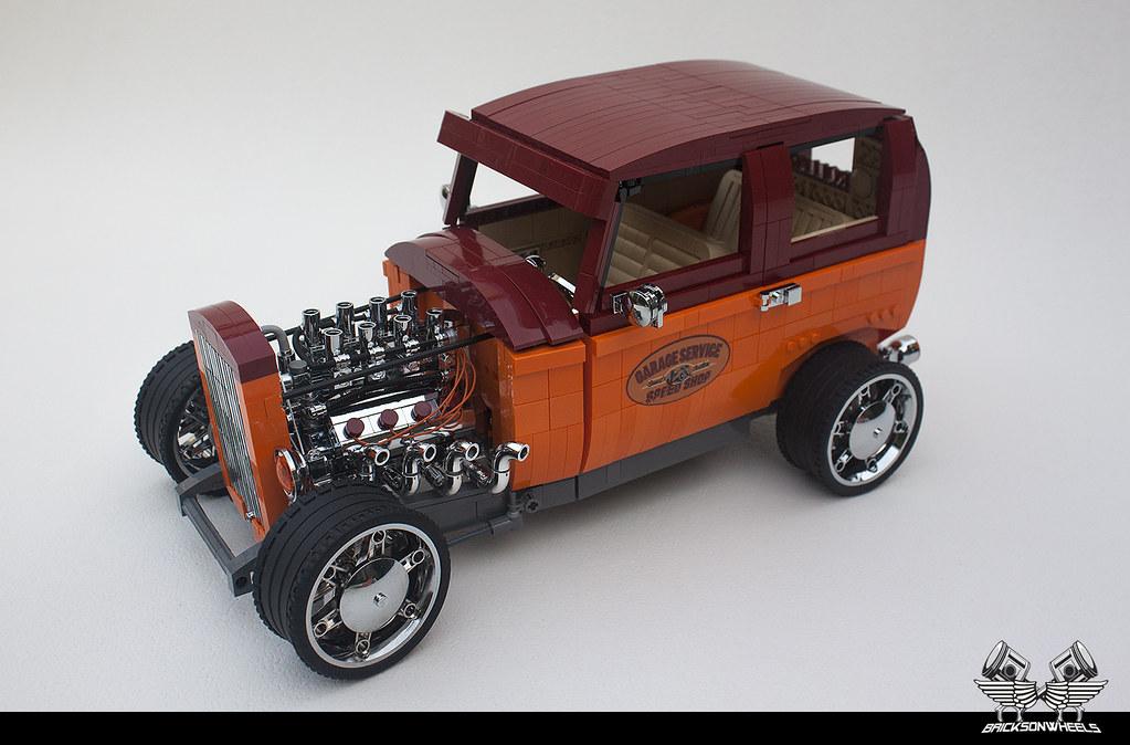 Ford Tudor Hot Rod 1/10 - LEGO Technic, Mindstorms & Model Team ...