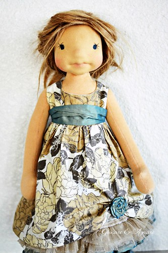 Party Dress for 18-21 inch doll