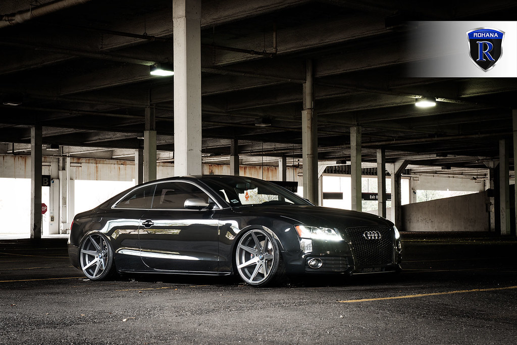 Audi S5 Rc7 Matte Graphite 2 Rohana Wheels Flickr