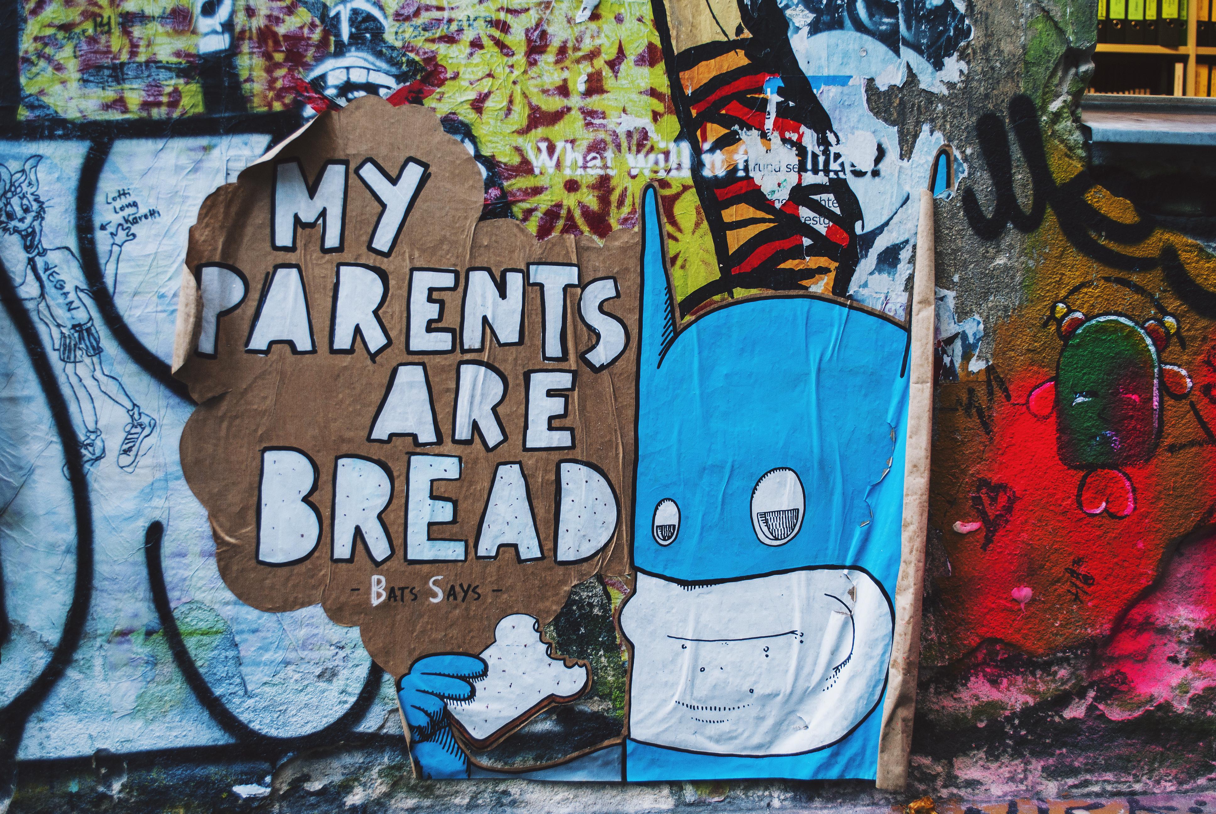 Berlin Travel Diary Graffiti Cafe Cinema