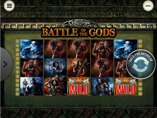 Battle of the Gods Mobile slot game online review