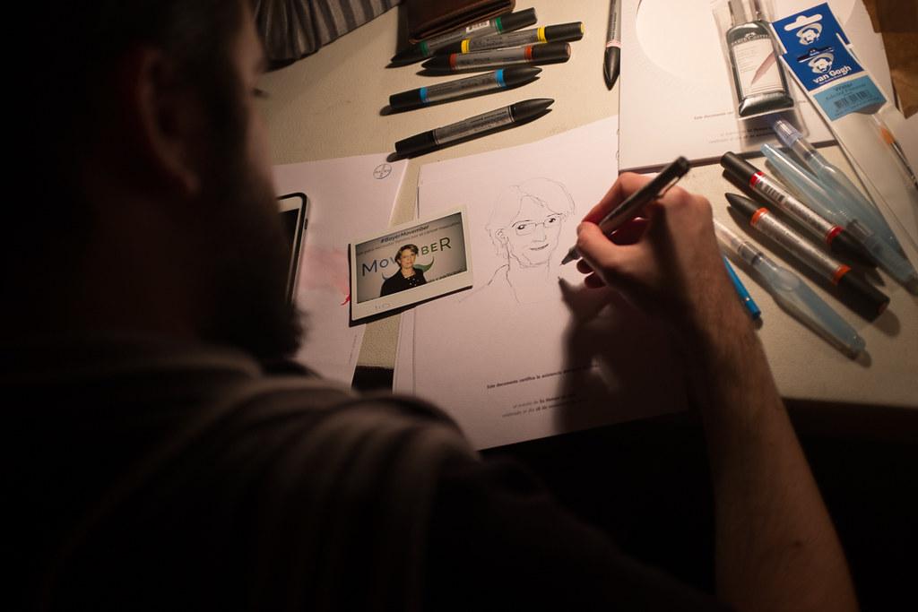 Dibujo a Domicilio - Evento BAYER
