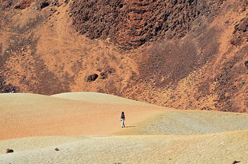 Pahoehoe lava, Mount Teide, Tenerife