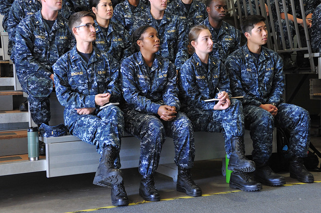 Junior surface warfare officers