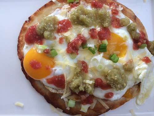 Breakfast tostada, because why not