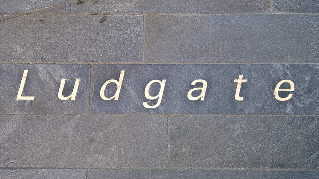 Detail of texts: Ludgate
