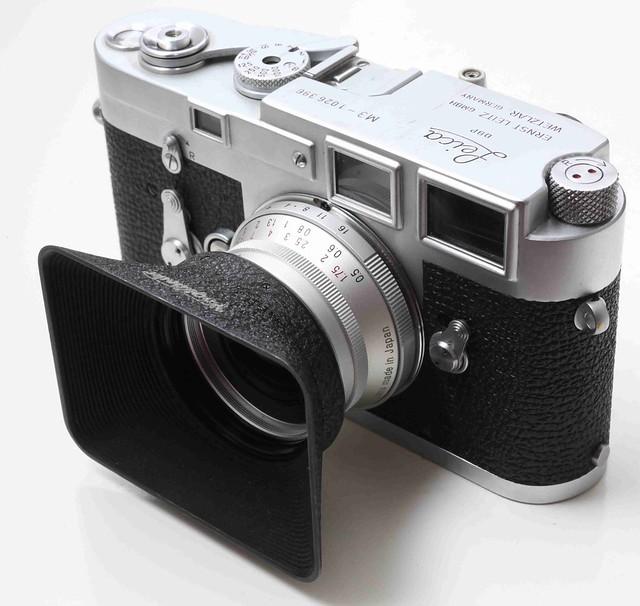 二手鏡頭 香港 . . . Voigtlander LH-1   Color-Skopar 21mm 專用   方型   金屬遮光罩