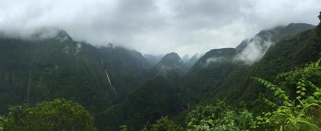 Panorámica del Valle de Takamaka (Isla Reunión)