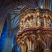 Marble pulpit, Worcester cathedral