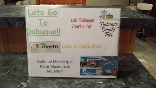 Includes gift certificates to 2016 Dubuque County Fair, Panera Bread ...