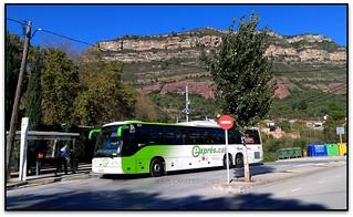 Autobús a Riells del Fai