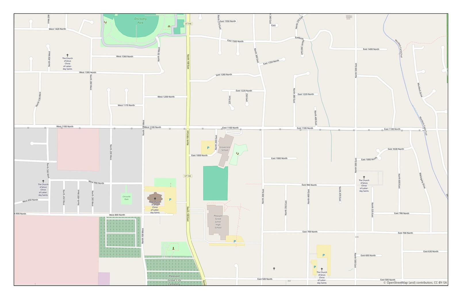 Open Street Map 1:5,000