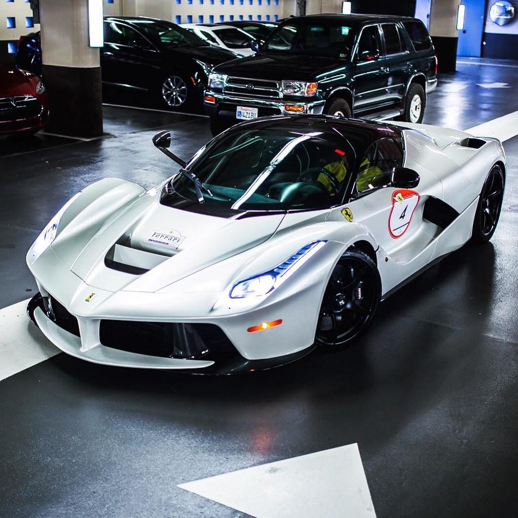 #ferrari #Cars #Car #italian #hypercar #laferrari #white
