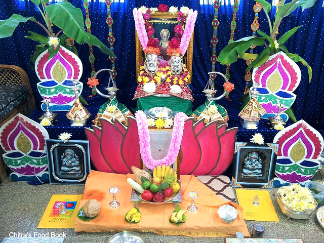 Varalakshmi Vratham Pooja procedure