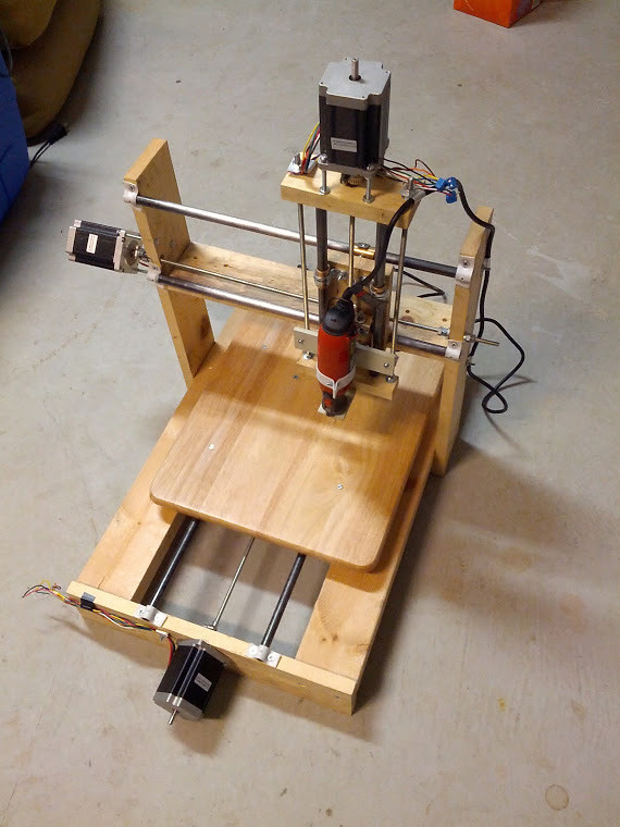 Tech \'n Tell: Homebuilt CNC Router | GWTC