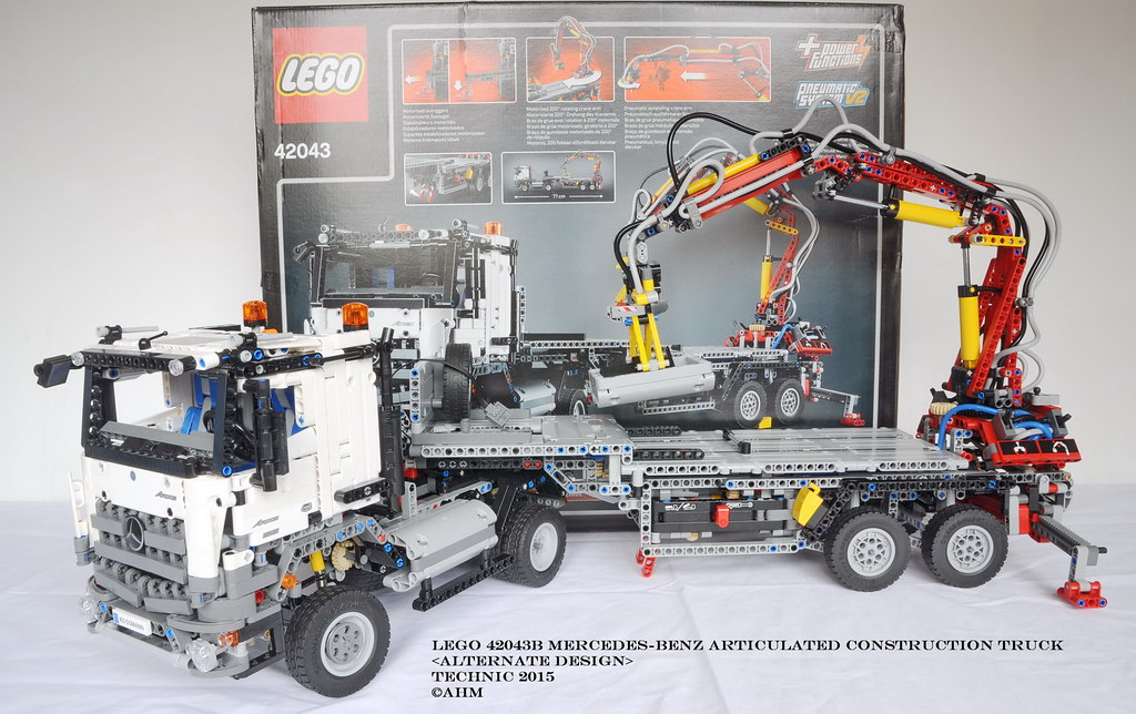 Lego technic 42043b mercedes benz articulated construction - Jeux de construction lego technic ...