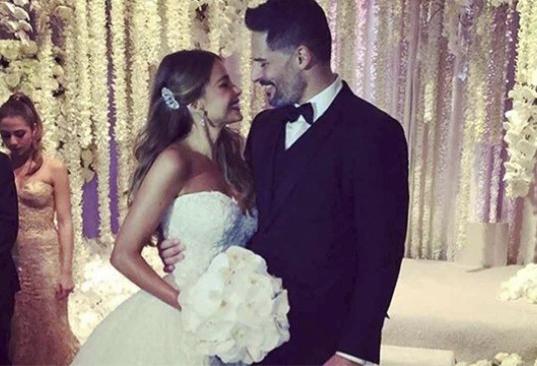 Sofía Vergara y Joe Manganiello se casan y así fue su boda de ensueño