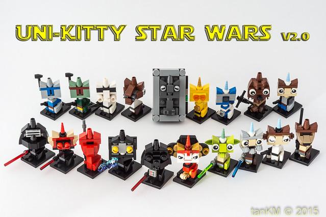Uni-Kitty Star Wars, v 2.0, by tanKM, on Flickr