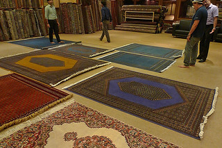 Agra - Carpet sales pitch