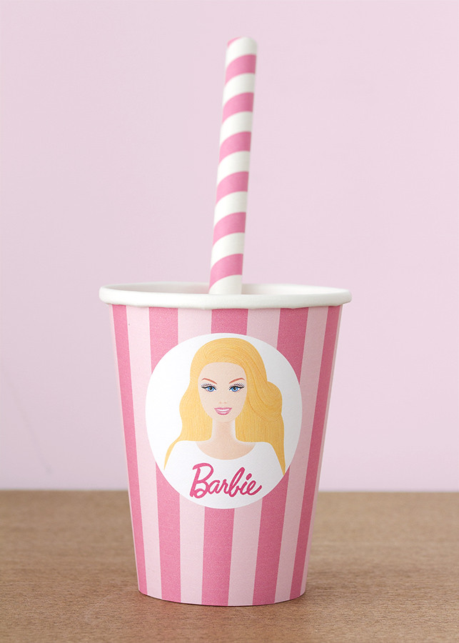 Imprimible gratuito Barbie
