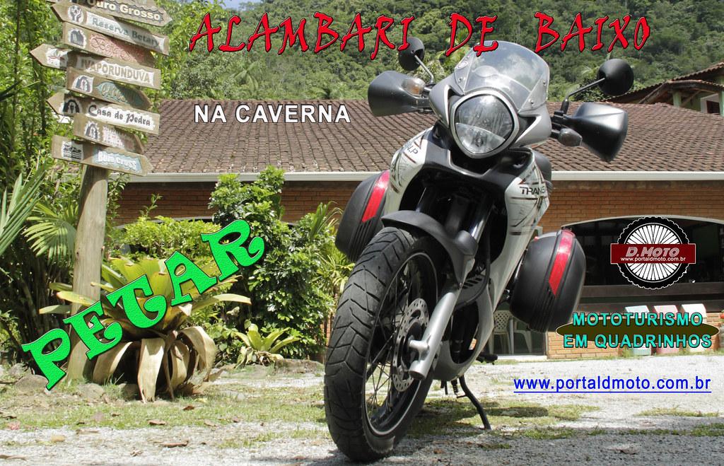 CAVERNA ALAMBARI DE BAIXO = QUADRINHOS