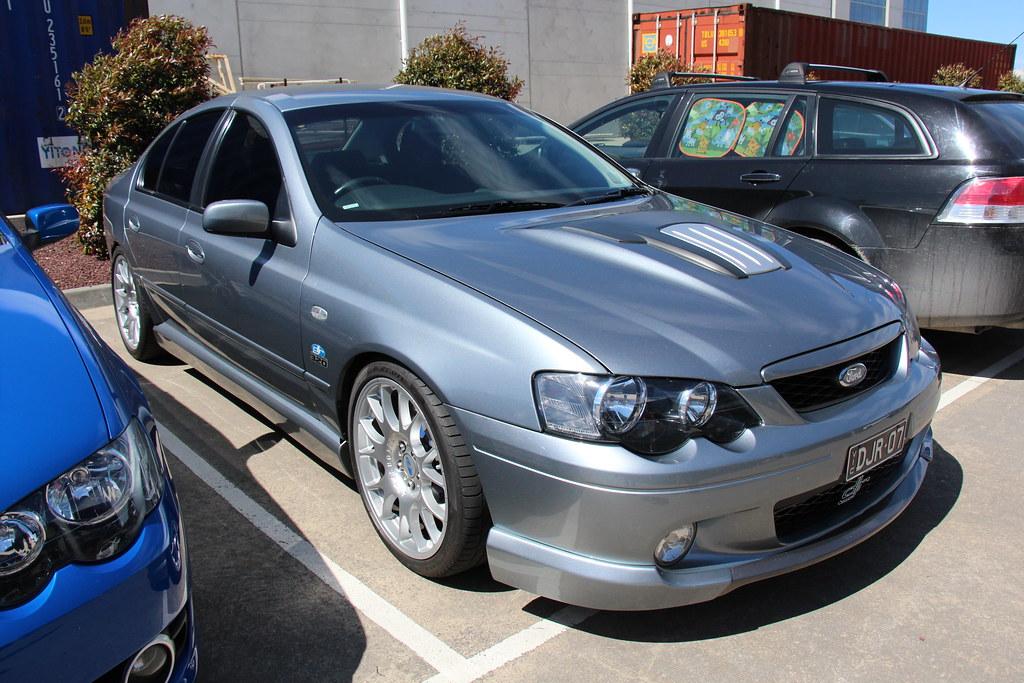 2004 ford ba falcon dick johnson 320 mercury silver the