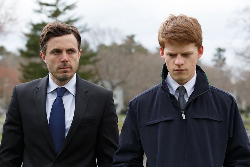 Casey Affleck and Lucas Hedges cope with tragedy in MANCHESTER BY THE SEA.
