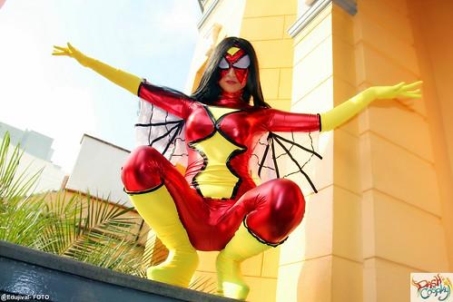 Dash Cosplay y Spiderman Peru presentes en el OtakuFest 2015