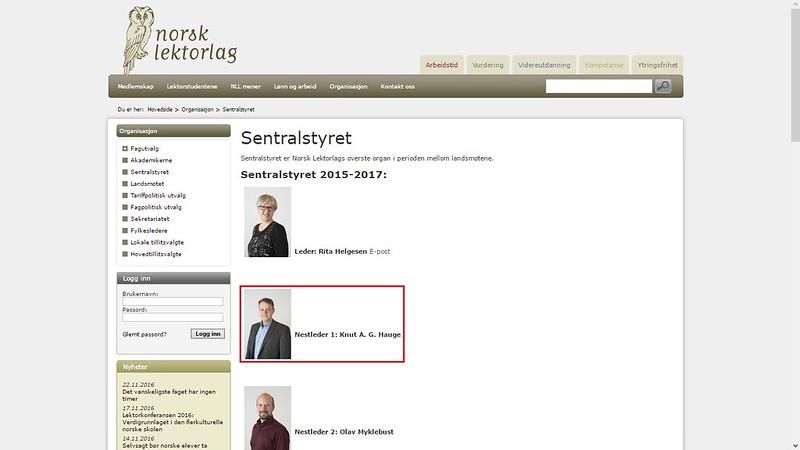 nestleder norsk lektorlag 2