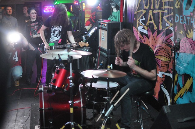 DZ Deathrays at House of  Targ