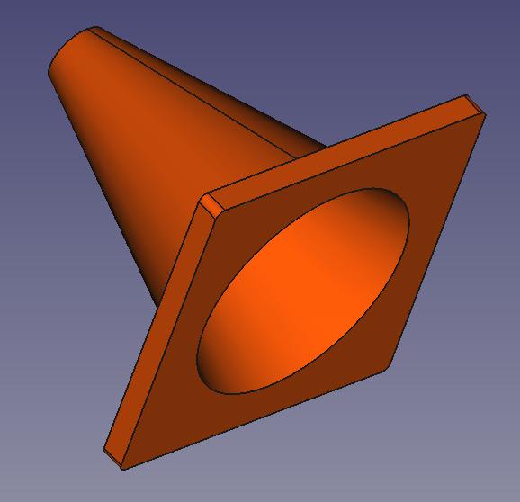 vista lateral inferior