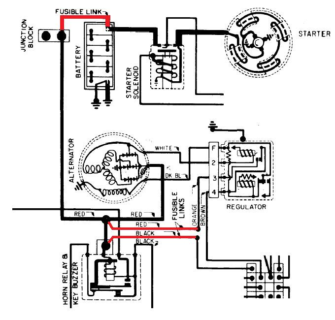 Fusible Link Wiring Diagram