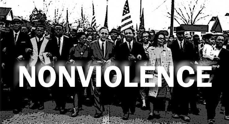 """violence or nonviolence in opinion of martin luther king In his latest pastoral letter, archbishop william e lori hopes to lift up dr martin luther king jr's principles of nonviolence and help them find their way into the consciousness of the church – """"the whole church, myself, my brother priests, the leadership of the archdiocese, those involved in ministries""""."""