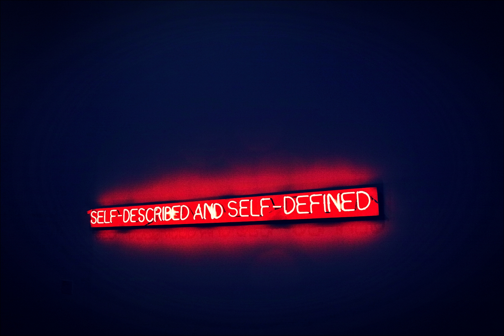 조셉코수스(Joseph Kosuth), SELF-DESCRIBED AND SELF-DEFINED-'베라르도 현대미술관 Berardo Museum of Modern and Contemporary Art'
